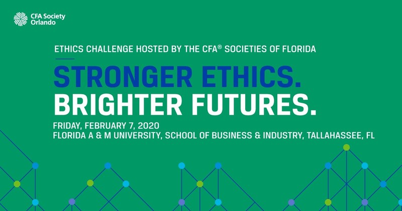 Ethics Challenge hosted by the CFA® Societies of Florida