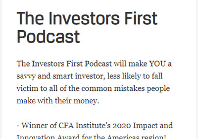 CFA Society of Orlando - Investors First Podcast with Michael Falk, CFA & Chris Cannon, CFA: 6 Deadly Sins of Investing
