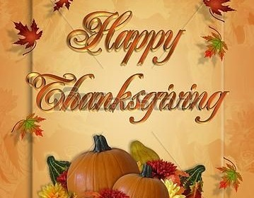 Happy Thanksgiving from FirsTrust